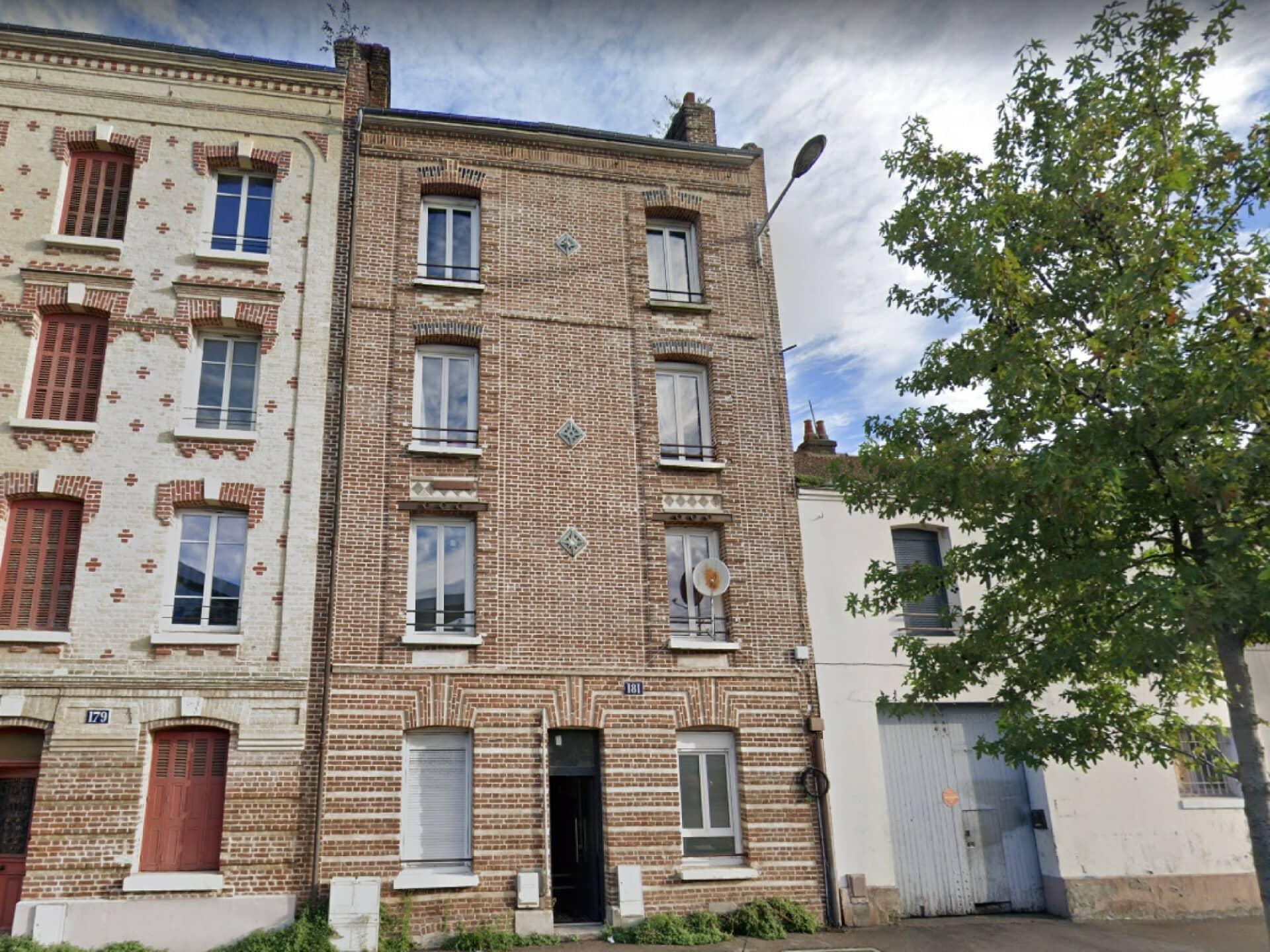 Annonce immobilière en location Appartement type F2 Le Havre 2070